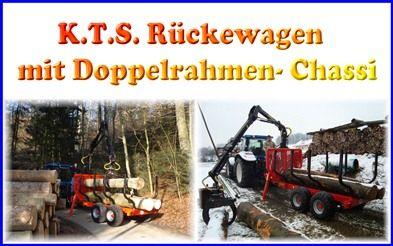 KTS Doppelchassi- Rückewagen