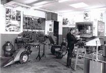 Firmengründung, Werkstatt